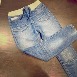 Boys adjustable waist jeans